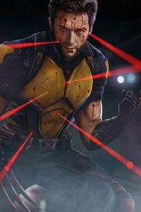 Wolverine 2020 Art 4k