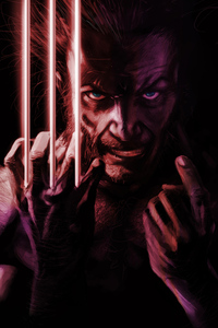 Wolverine Angry Art