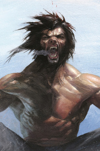 540x960 Wolverine Angry Artwork