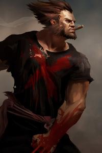 1440x2560 Wolverine Cigar