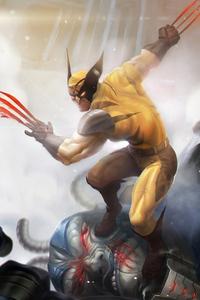 1080x1920 Wolverine Claws 4k