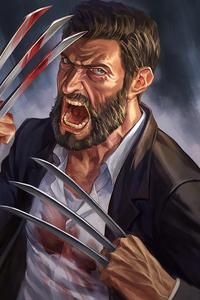 Wolverine Claws Art