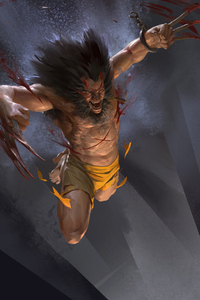 Wolverine Coming Claws