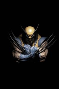 1080x2160 Wolverine Dark 4k