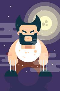 Wolverine Minimal Art