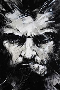 Wolverine Monochrome Art