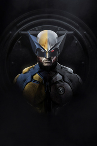 720x1280 Wolverine Superhero Artwork