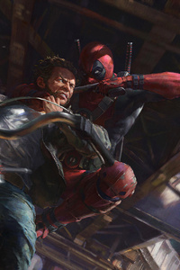 Wolverine VS Deadpool Corps
