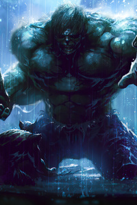 1242x2688 Wolverine Vs Hulk 4k