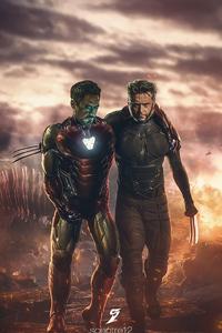 Wolverive Saved Iron Man