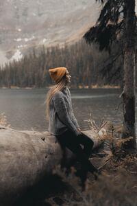 Women Gray Sweater