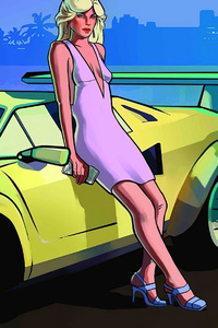 Women Luxury Grand Theft Auto Vice City 4k