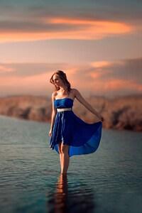 Women Outdoor Sea