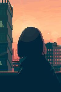 Women Pixel Art 4k