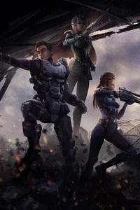 Women Warrior Scifi