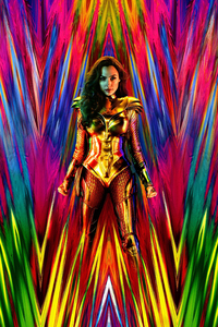 1125x2436 Wonder Woman 1984 4k