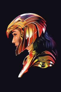 1080x1920 Wonder Woman 1984 4k Minimal
