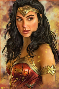Wonder Woman 1984 Artwork 2020