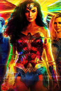 750x1334 Wonder Woman 1984 Dc Comics 5k