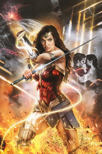 Wonder Woman 1984 Digital Art Movie 4k