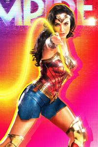 640x960 Wonder Woman 1984 Empire