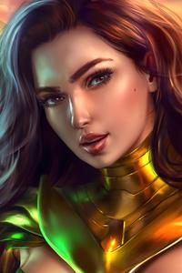 1125x2436 Wonder Woman 1984 Fan Made Artwork