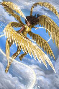540x960 Wonder Woman 1984 Golden Eagle Armour