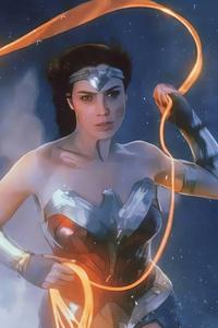 Wonder Woman 1984 Movie Art