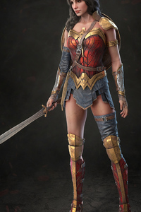 480x854 Wonder Woman 1984 Newart