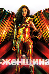 1440x2560 Wonder Woman 1984 Russian Poster 10k