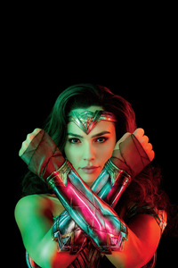 640x960 Wonder Woman 1984 Speed Magazine 4k