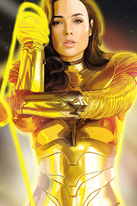 Wonder Woman 1984 Yellow Suit