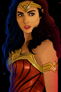 Wonder Woman 1984art