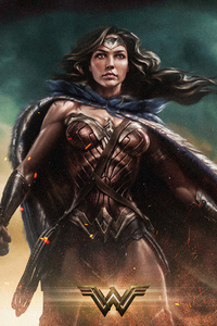480x800 Wonder Woman 2 2019