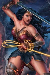 Wonder Woman 2018 Digital Art
