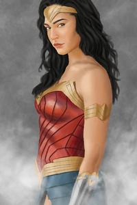 Wonder Woman 2020 4k Art