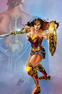 Wonder Woman 2020 Arts 4k