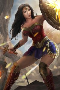 Wonder Woman 2020 Artworks 4k