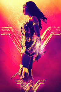 1080x2160 Wonder Woman 2020 New Art