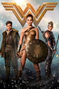 320x480 Wonder Woman 4k 2017