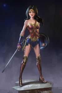 Wonder Woman 4k Artwork Warrior