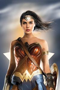 Wonder Woman 4k New Artwork