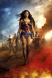 360x640 Wonder Woman 5k 2017 Movie