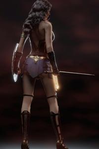 Wonder Woman 5k Digital Art