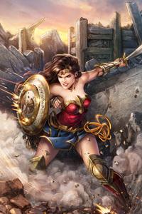 Wonder Woman 5k Digital Artwork