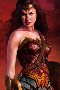 Wonder Woman 5k Gal Gadot Art