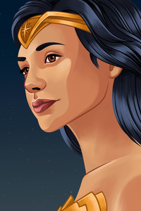 Wonder Woman 5k Illustration