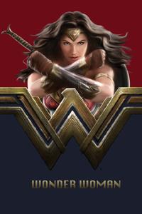Wonder Woman 5k New Artwork