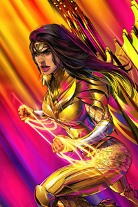 Wonder Woman 84 Gold Queen 5k