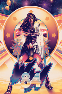 1080x2160 Wonder Woman 84 Movie Art